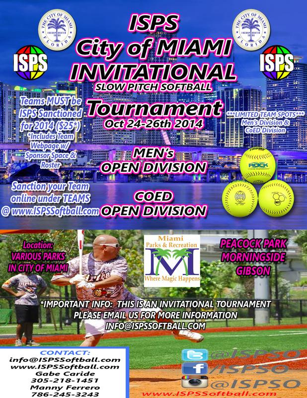 ISPS City of Miami Invitational