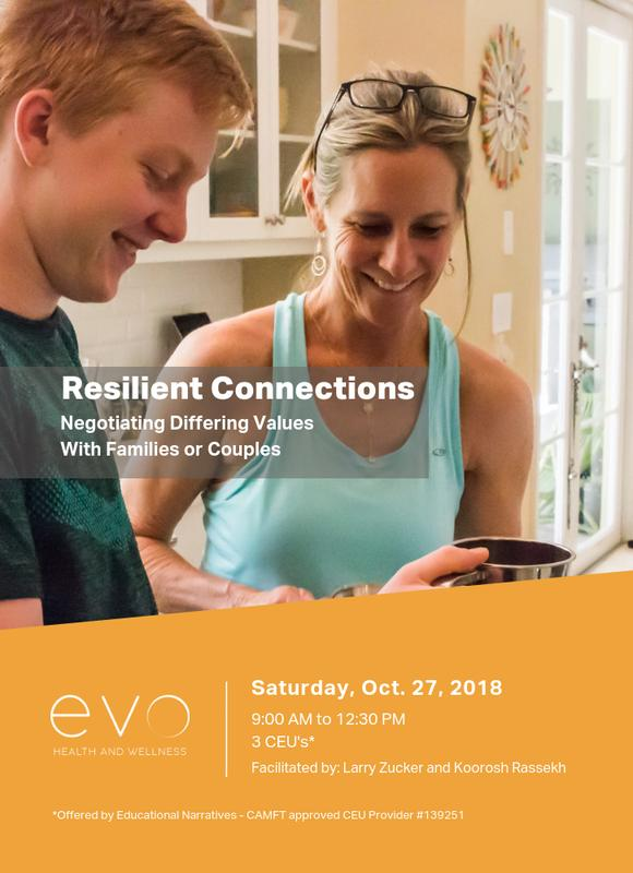 CEUs for Resilient Connections: Negotiating Differing Values with Families or Couples