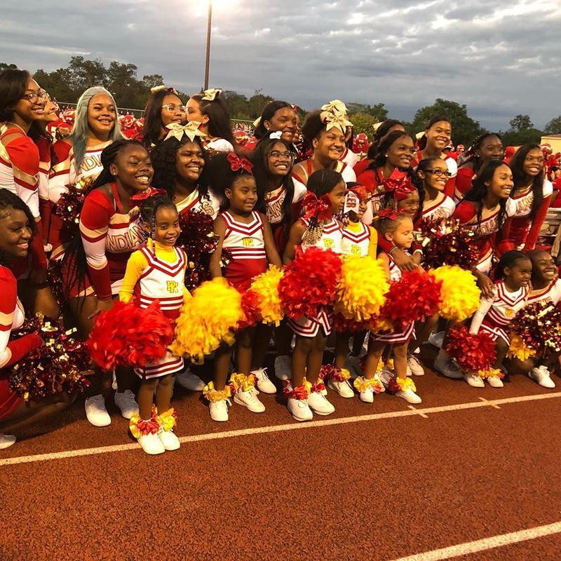 Pancake Breakfast and Mini Camp with the PH Varsity Cheerleaders