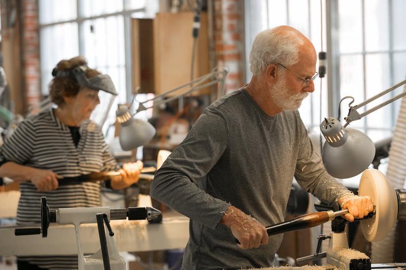 Maker Date: Woodturning