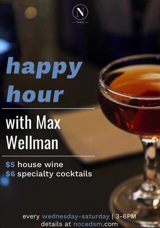 Happy Hour w/ Max Wellman