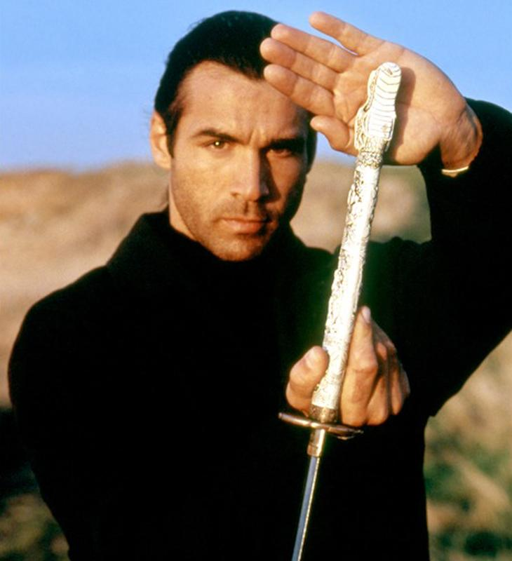 Learn Sword Fighting with Adrian Paul @ WW  Columbus 2015