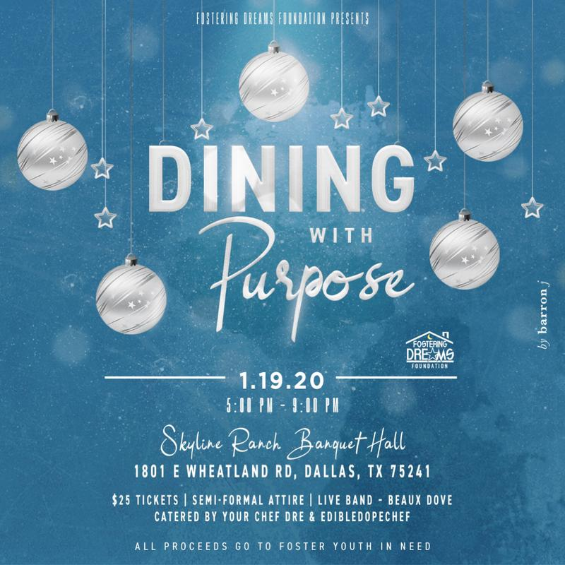 "FDF PRESENTS ""Dining with Purpose"""