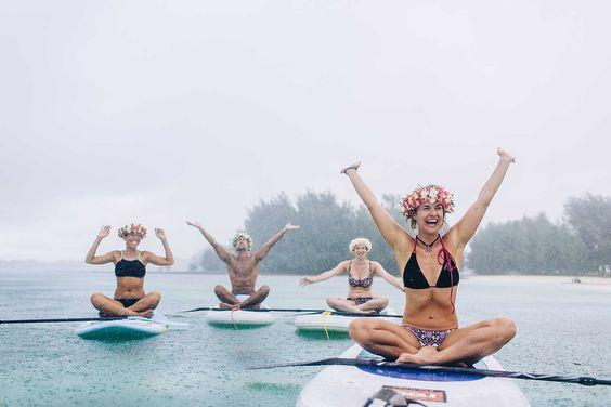Stand Up Paddleboard (SUP) Yoga