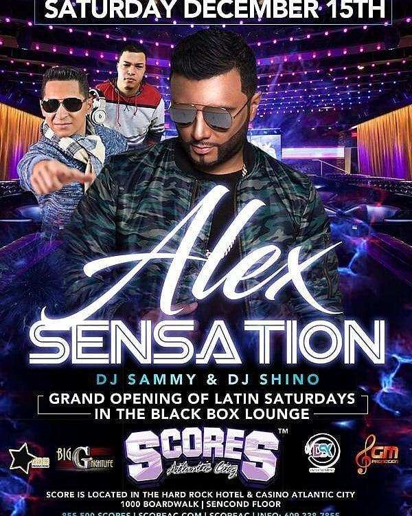 Alex Sensation Live At Scores Black Box Lounge Atlantic City