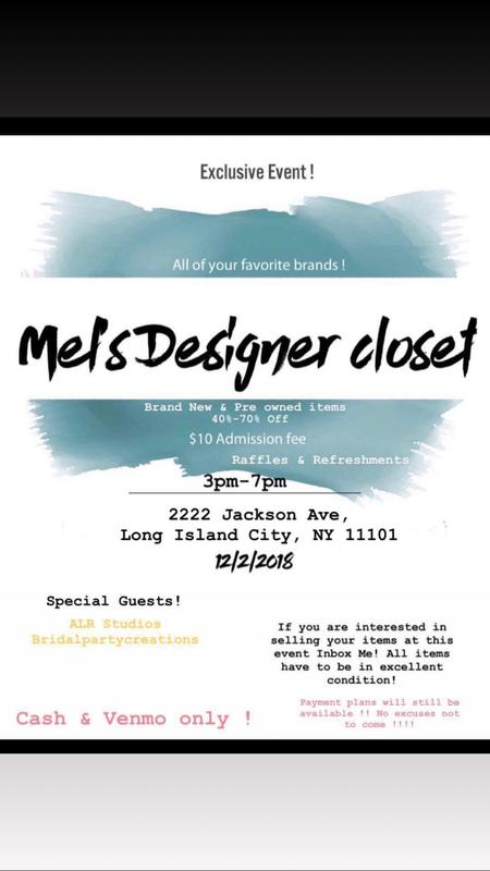 Mel's Designer Closet !