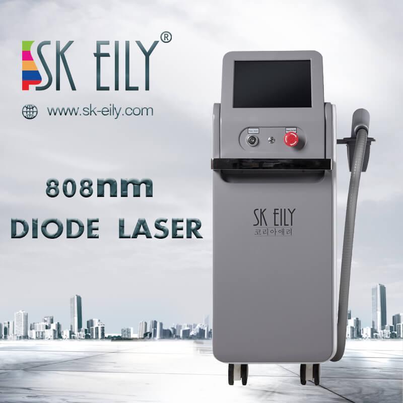 Los beneficios de la depilación láser de diodo 808nm