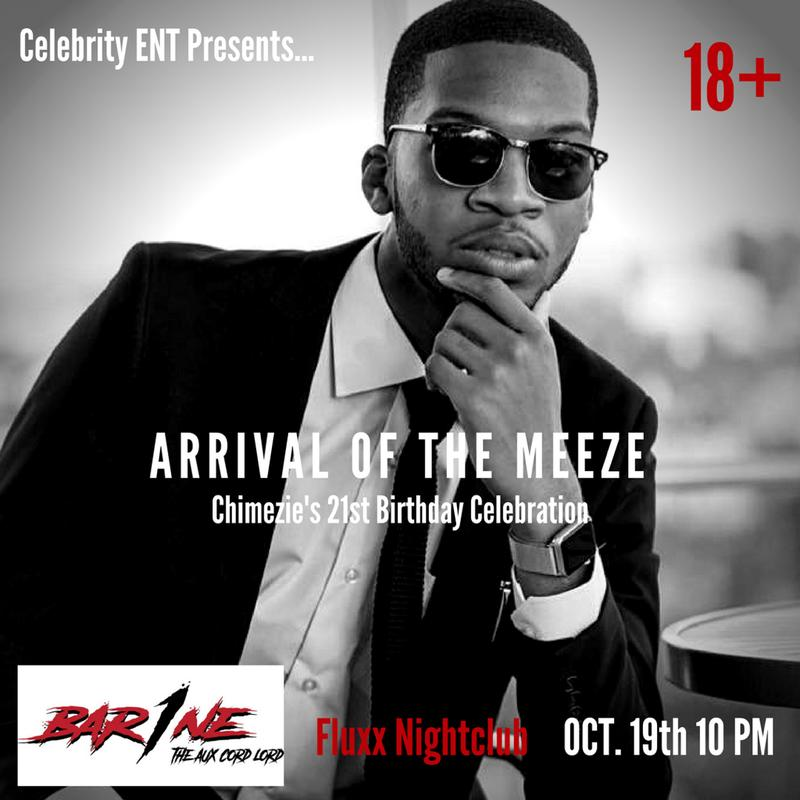 The Arrival Of The Meeze: 21st Birthday Celebration