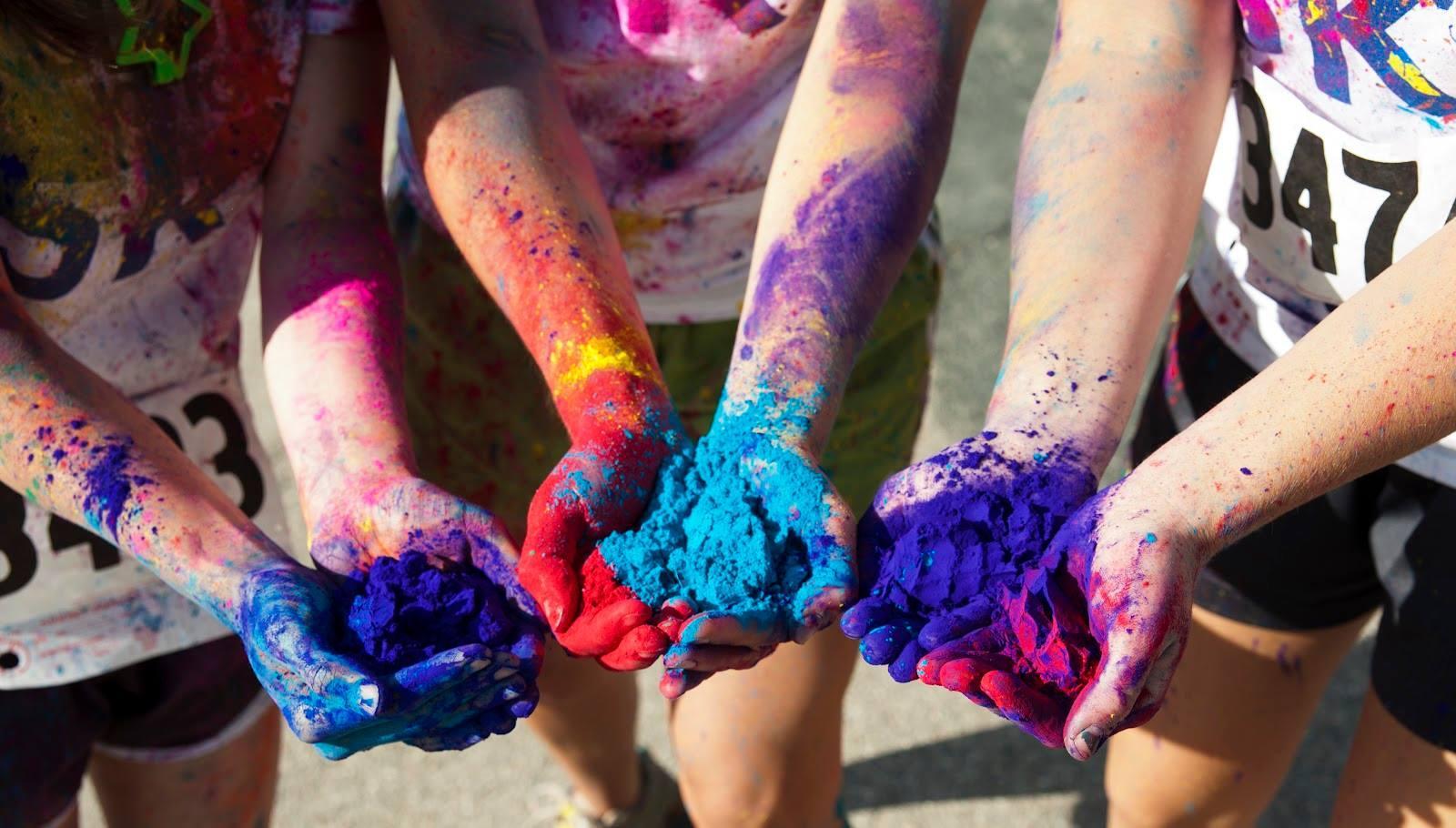 3rd annual fiji color run for cystic fibrosis - Cystic Fibrosis Color