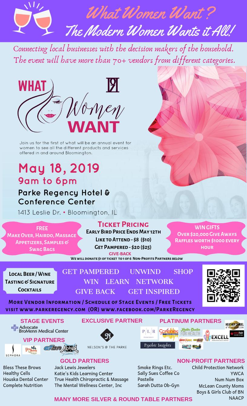 What Women Want Expo - 2019 Tickets in Bloomington, IL, United States