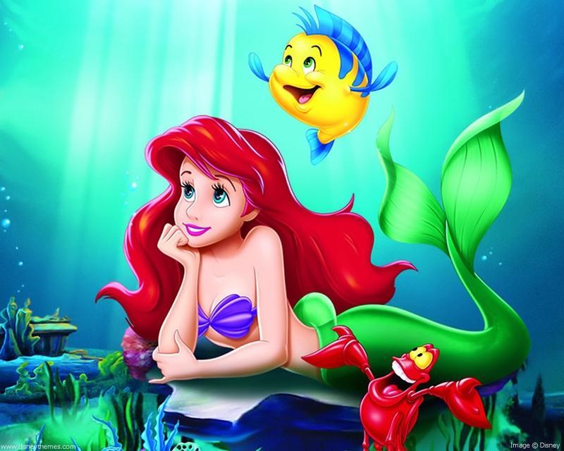 Little Mermaid Tea Party