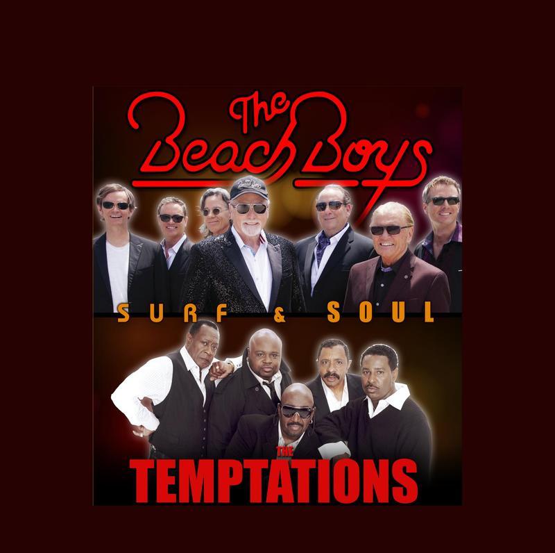The Beach Boys & The Temptations