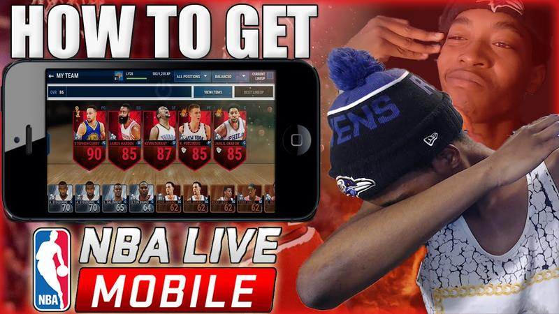 Hack Nba Live Mobile - Easy And Effective