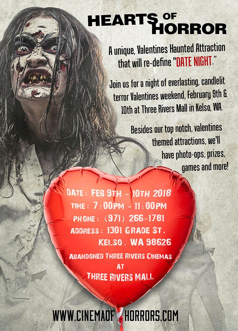 Hearts Of Horror Valentines Haunted Attraction   Horror Valentines