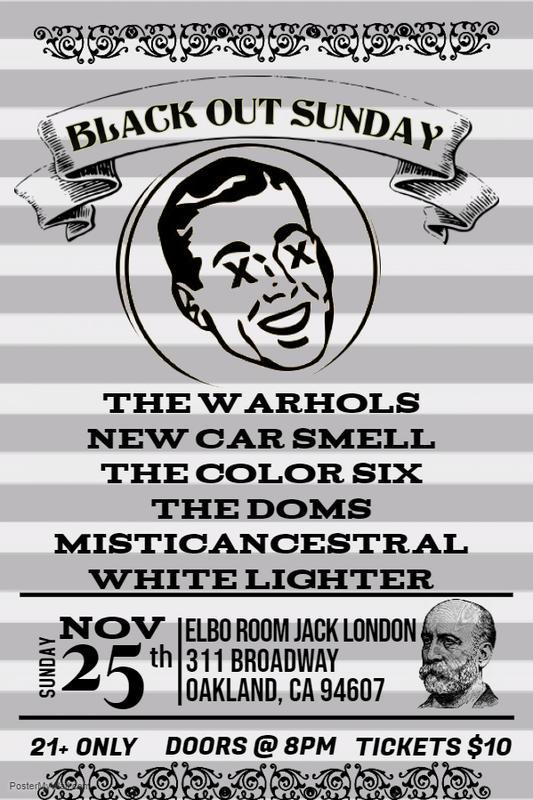 Blackout Sunday at Elbo Room Jack London