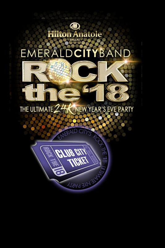 Rock the 18 Club City Ticket