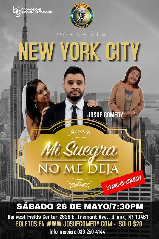 Mi Suegra No Me Deja - New York
