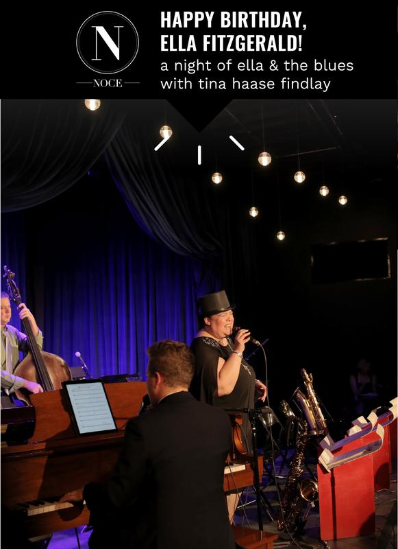 Happy Birthday, Ella Fitzgerald! A Night of Ella & the Blues with Tina Haase Findlay