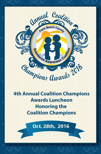ANNUAL COALITION CHAMPIONS AWARDS 2016