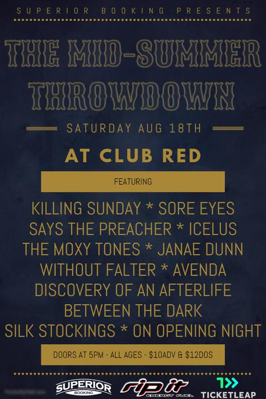The Mid-Summer Throwdown at Club Red