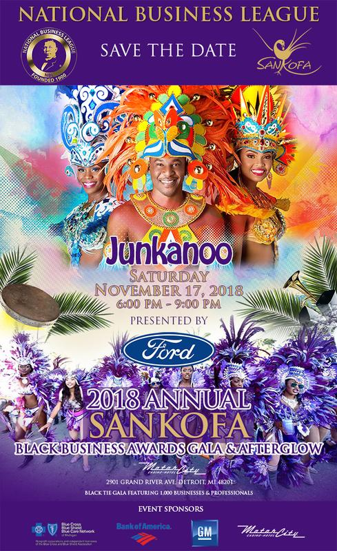 Sankofa 2018 Black Business Gala Presented by Ford Motor Company