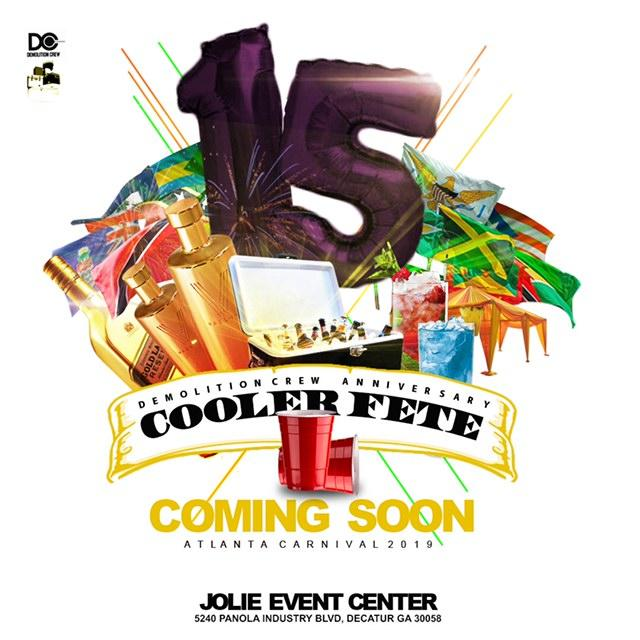 15th Annual Cooler Fete (LIMITED ONLY) Tickets - One week sale.