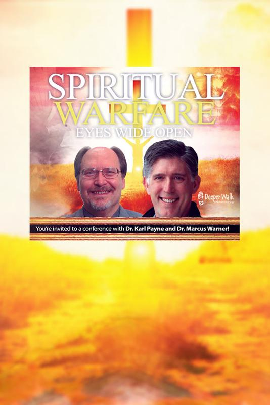 Dr. Karl Payne and Dr. Marcus Warner at Spiritual Warfare - Eyes Wide Open