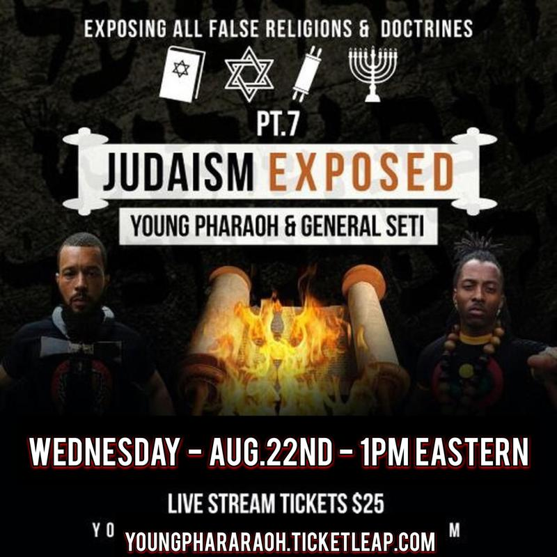 YOUNG PHARAOH & GENERAL SETI- JUDAISM EXPOSED!
