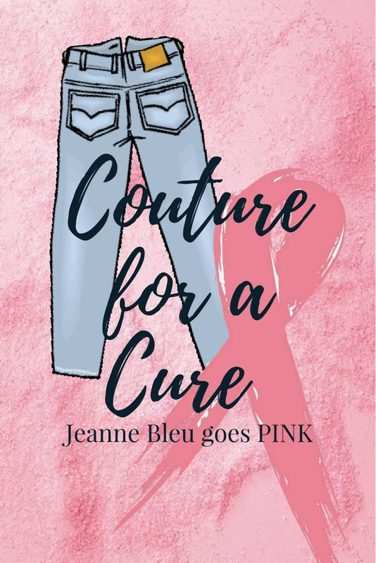 Couture for a Cure: Jeanne Bleu goes PINK