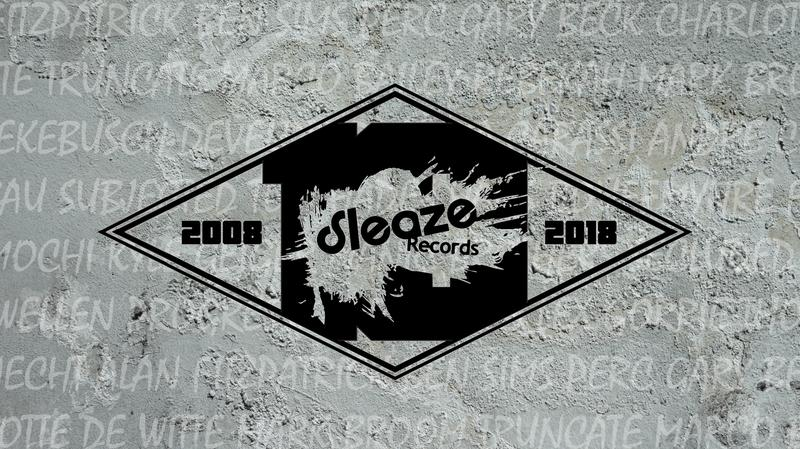NOV 21 _ 10 Years of Sleaze Records _ Annual Thanksgiving Eve Techno: HANS BOUFFMYHRE, LEX GORRIE, SECLUDED -live-