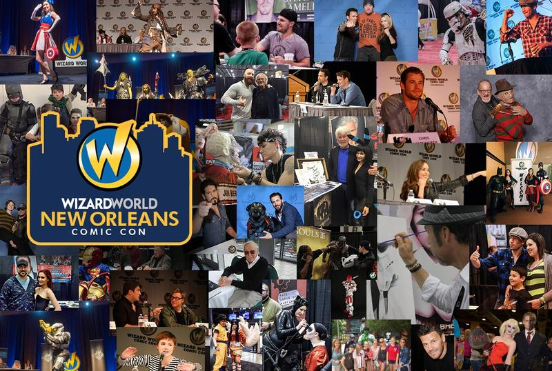 Wizard World NEW ORLEANS Comic Con & Gaming 2017 Admission