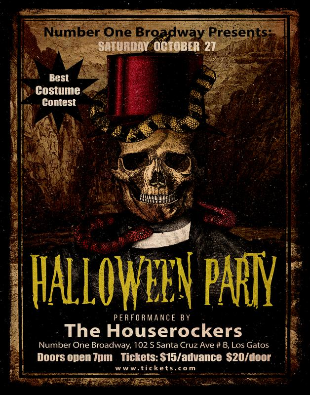 Houserockers Halloween Party at Number One Broadway