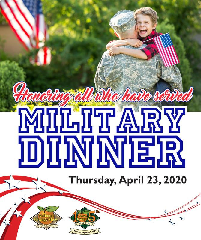 National Orange Show Military Dinner