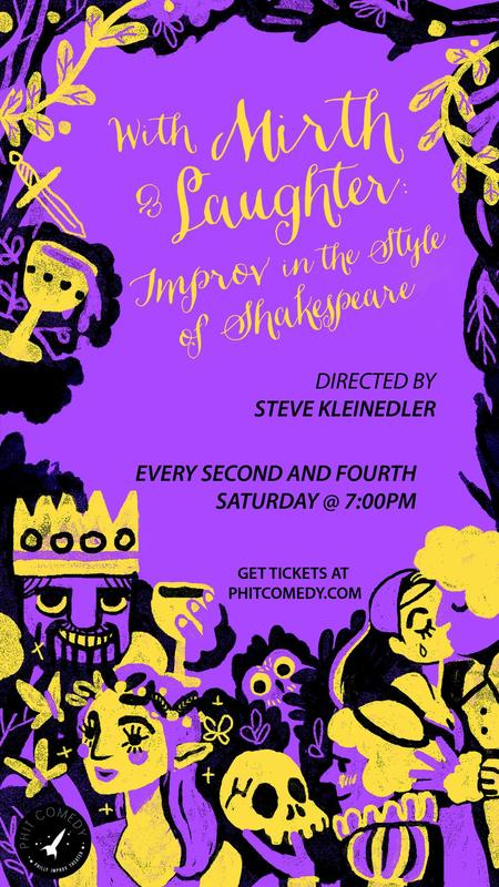 With Mirth & Laughter: Improv in the Style of Shakespeare