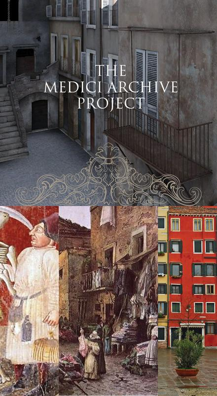 The Medici Archival Project: Love and Death in Italian Ghettos in the Time of the Plague