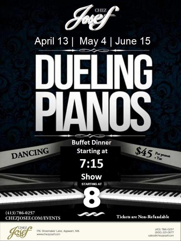Dueling Pianos Spring 2018