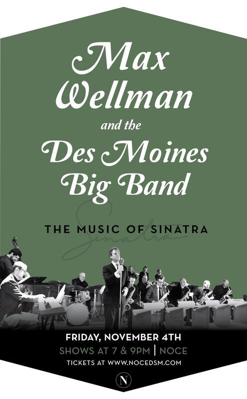 Max Wellman Sings Sinatra (Featuring The Des Moines Big Band)