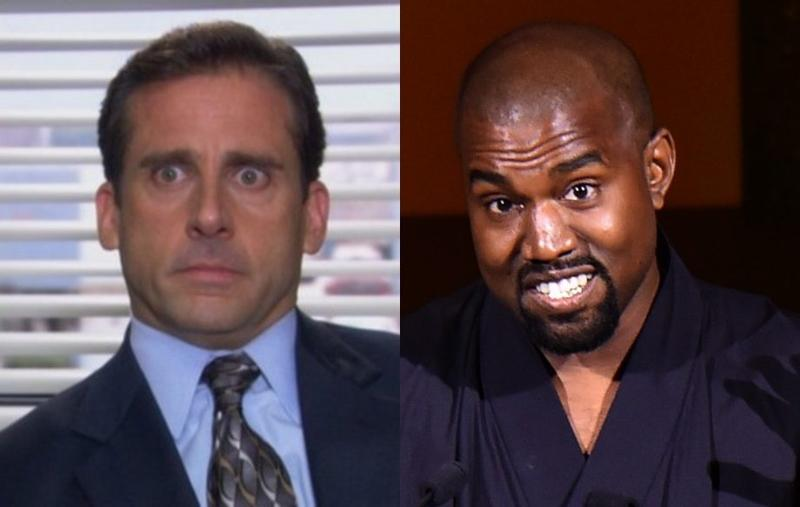 Kanye West comes out of the sunken place