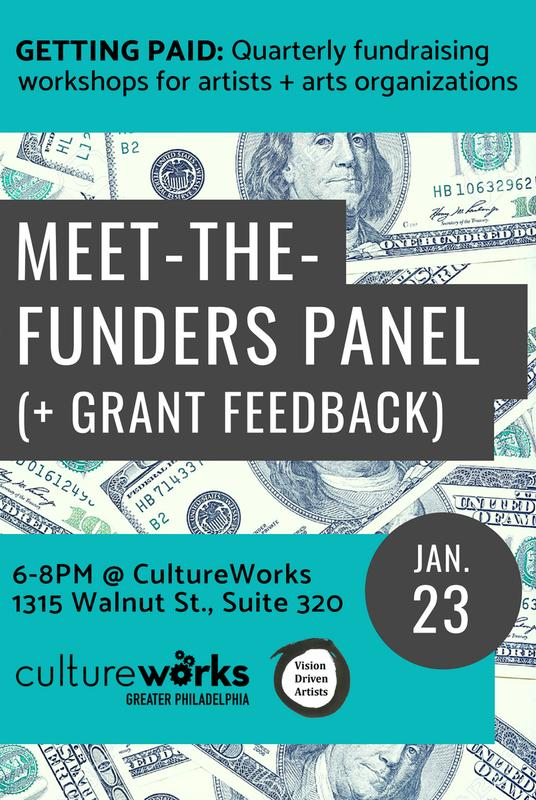 Getting Paid: Meet-The-Funders Panel + Feedback