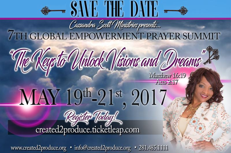 CSM 2017 Global Empowerment Prayer Summit