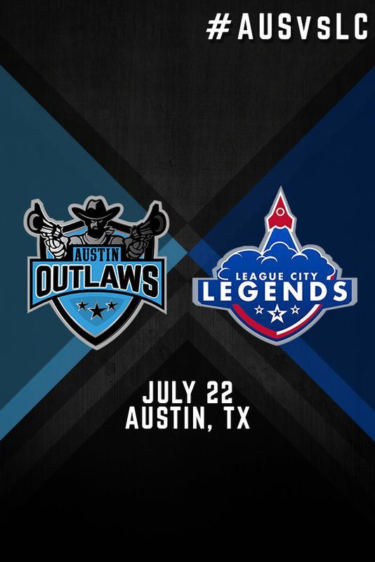 Austin Outlaws vs. League City Legends