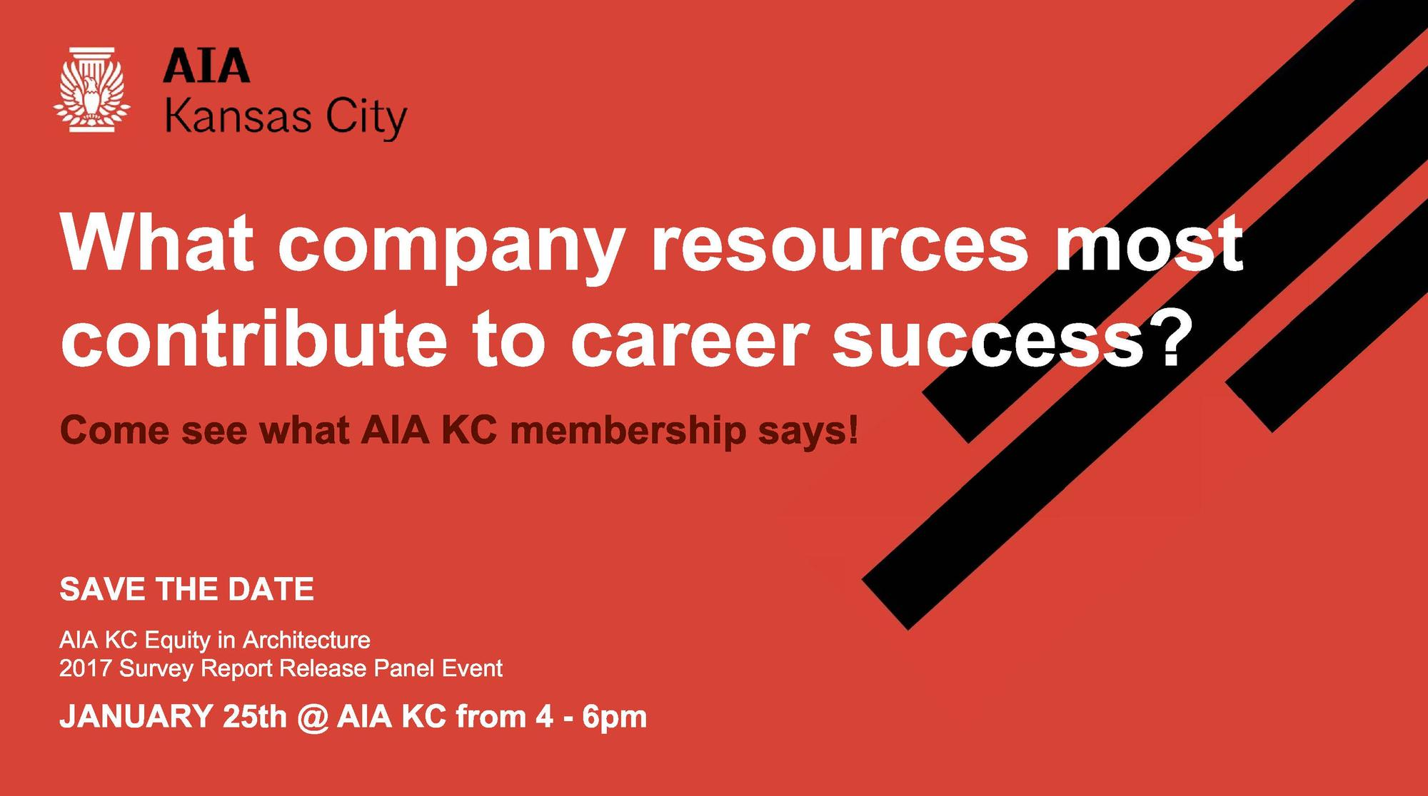 AIA Kansas City Equity in Architecture Survey Report Release Panel Event