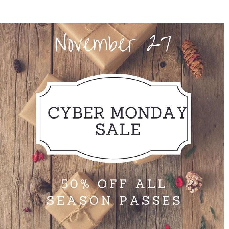 2018 Season Pass Cyber Monday Sale
