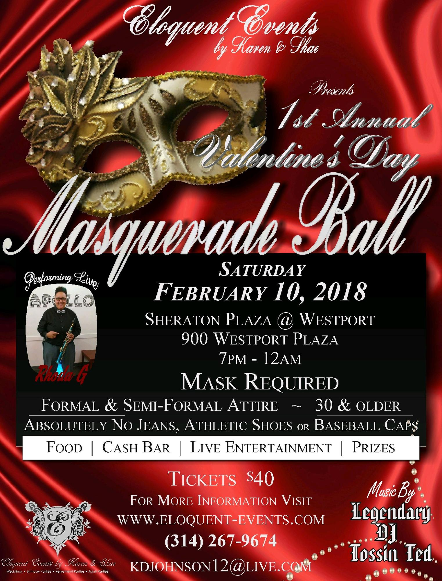 Valentines Day Masquerade Ball