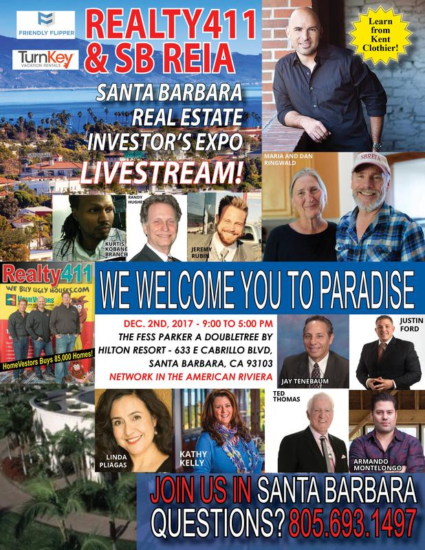 SB REIA & REALTY411 VIRTUAL REAL ESTATE EXPO WITH LIVE STREAMING!