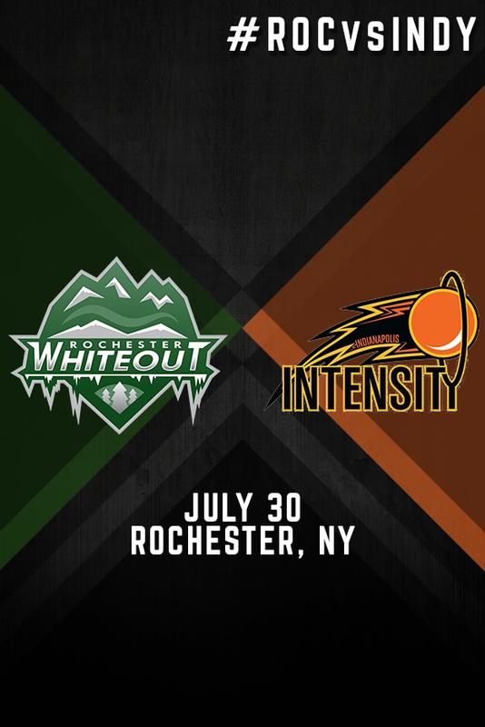 Rochester Whiteout vs. Indianapolis Intensity