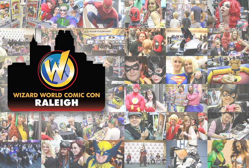 Raleigh Comic Con 2015 Wizard World VIP Package