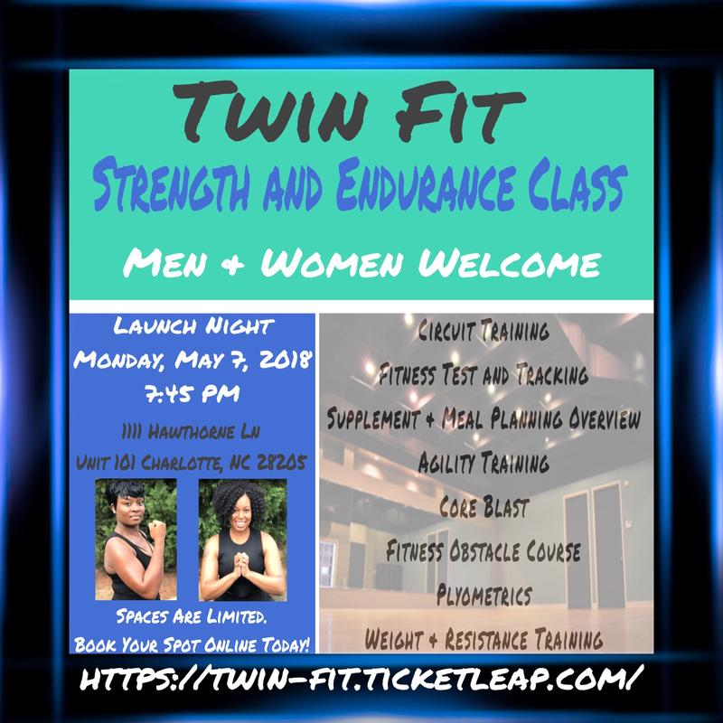 TWIN FIT'S STRENGTH AND ENDURANCE TRAINING