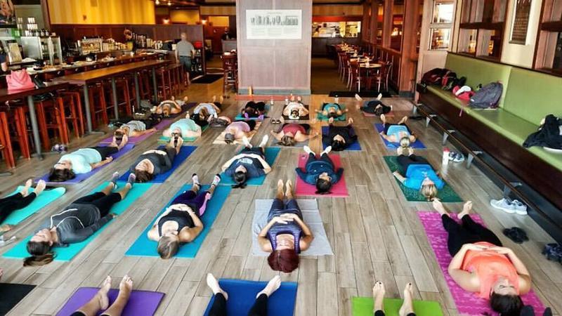 Beer & Yoga - Iron Hill Media