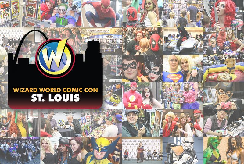 Wizard World Comic Con St. Louis 2015 VIP Package